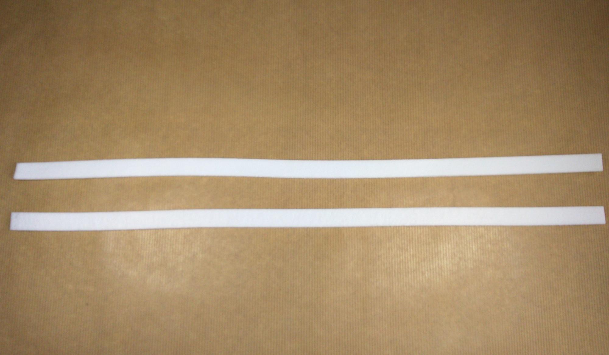 Feutrine 3 mm joint de vitre