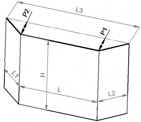 vitre prismatique h 505